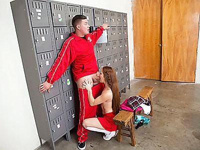 Bitchy Unloading Cheerleader