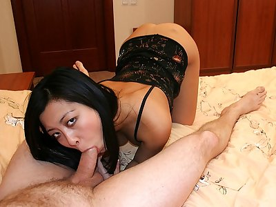 High High-heeled slippers Orgy for Dark haired Stunner