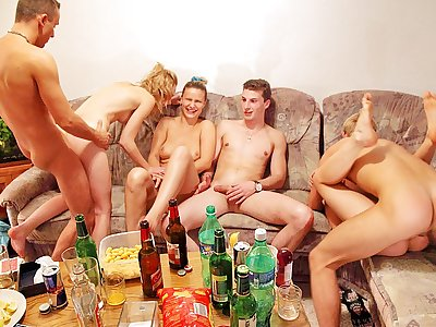 Xxx gang pummeling at super-naughty lovemaking soiree